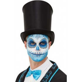 Smiffys Make-Up FX, Day Of The Dead Kit, Aqua Halloween