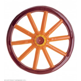 3D Caravan Wheel Pvc 50Cm - Fancy Dress