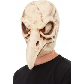 Bird Skull Latex Mask Halloween Fancy Dress