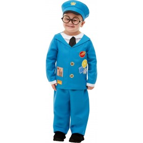 Postman Pat Fancy Dress Costume Cartoon (Official Licensed)