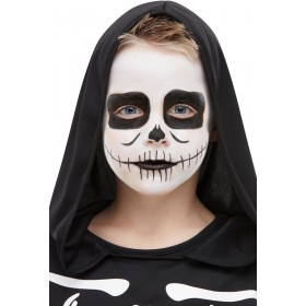 Smiffys Make-Up FX, Kids Skeleton Kit, Aqua Halloween