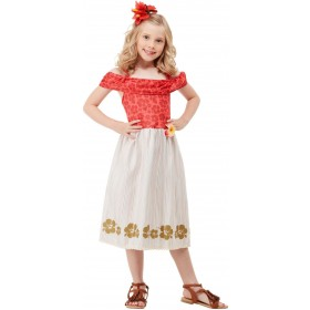 Hawaiian Princess Fancy Dress Costume Hawaiian