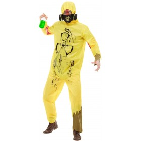 Biohazard Suit Halloween Fancy Dress