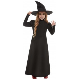 Wicked Witch Girl Fancy Dress Costume Halloween