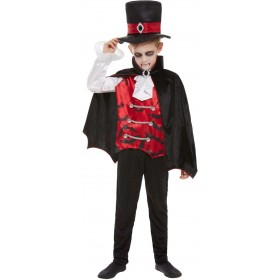 Vampire Dracula Fancy Dress Costume Halloween