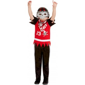Zombie Football Player Fancy Dress Costume Halloween