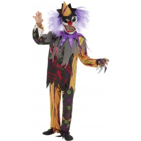 Scary Clown Fancy Dress Costume Halloween