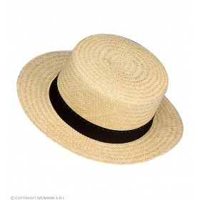 Chevalier Straw Hat Deluxe - Fancy Dress
