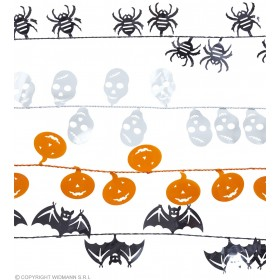 Halloween Wire Garland 7.6M 4Styles - Fancy Dress (Halloween)