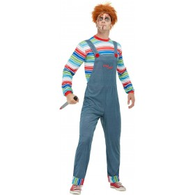 Chucky Mens Fancy Dress Costume Halloween (Official Licensed)
