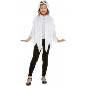 Ghost Hooded Cape Halloween Fancy Dress