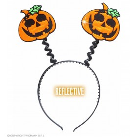 Reflective Pumpkin Head Boppers - Fancy Dress (Halloween)