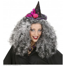 Witch Hat Headbands 6 Styles Ass. - Fancy Dress (Halloween)