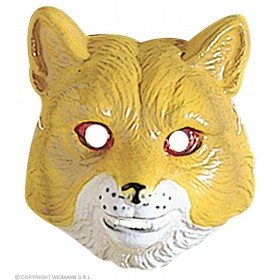 Fox Mask Child Plastic - Fancy Dress
