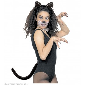 Dress Up Cat Set Adult - Fancy Dress Ladies