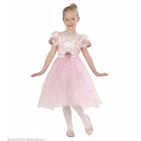Ballerina - Dress+Light-Up Skirt, Rose Hair Fancy Dress