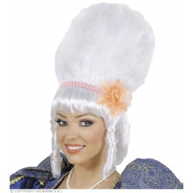 Drag Queen Marquise Wigs Pink Pearls & Flow Fancy Dress (Royalty)