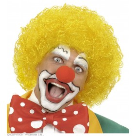Clown Wig - Yellow - Fancy Dress (Clowns)