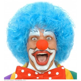Clown Wig - Blue - Fancy Dress (Clowns)