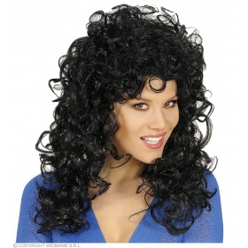 Attractive Wig - Black - Fancy Dress