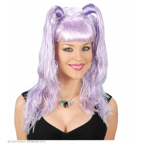 Roppongi Wig 6 Colours Asstd - Fancy Dress