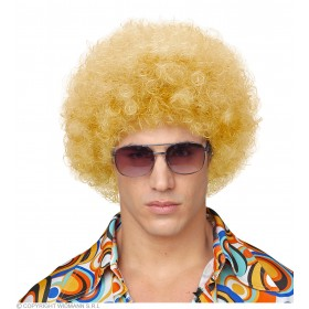 Unisex Curly Wig - Blonde - Fancy Dress