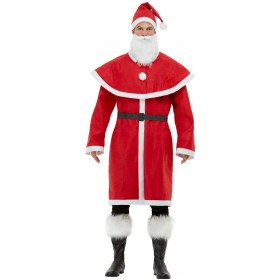 Father Christmas Santa Fancy Dress Costume Christmas