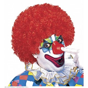 Unisex Curly Clown Wig 6Colours - Fancy Dress (Clowns)