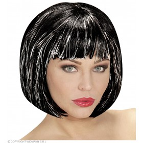 Cool Wig Black In Polybag - Fancy Dress