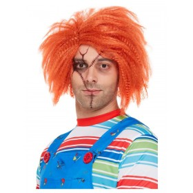 Chucky Wig Halloween Fancy dress (Official Licensed)