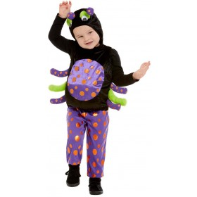 Toddler Spider Fancy Dress Costume Halloween