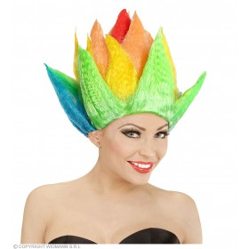 Multicolour Spike Wig - Fancy Dress