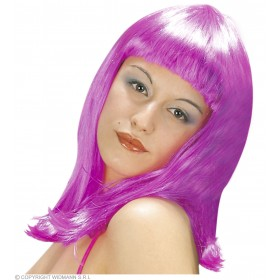 Patsy Wig Polybag 6Colours - Fancy Dress