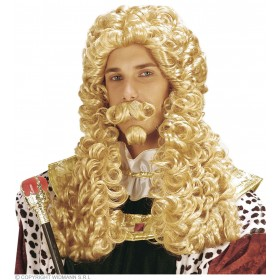 Le Roi Wig Blonde - Fancy Dress