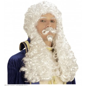 Francois Wig W/Tash Goatee - Fancy Dress