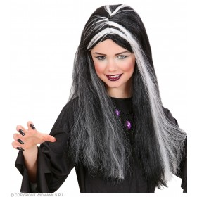 Little Witch Wig Gid Streaks - Fancy Dress (Halloween)