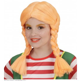 Naughty Girl Wig For Children Fancy Dress Girls