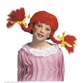 Naughty Girl Wig Child W/Bendable Plaits - Fancy Dress