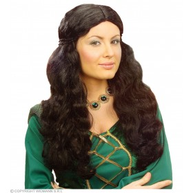 Medieval Wench Wig Polybag - Fancy Dress