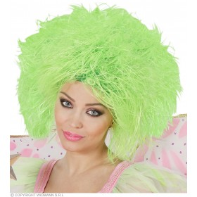 Fairy Wig In Polybag - Neon Green - Fancy Dress (Fairy Tales)