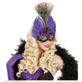 Eyemask Feather Elegance - Fancy Dress