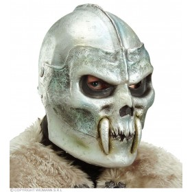 Skull Warrior Helmet Latex - Fancy Dress