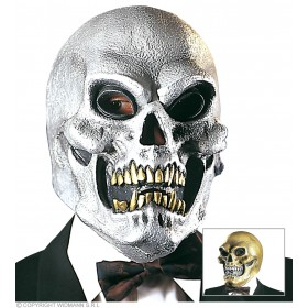 Skull Masks Gold/Silver - Fancy Dress