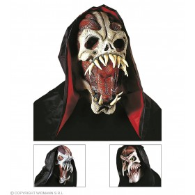 Space Monster Mask With Hood - Fancy Dress