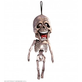 Hanging Skeleton Decoration 60Cm - Fancy Dress (Halloween)