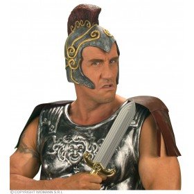 Roman Centurion Helmet - Fancy Dress (Roman)