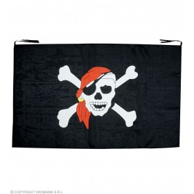 Pirate Flag 130 X 80 - Fancy Dress (Pirates)