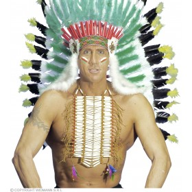 Native American Warrior Breastplate - Fancy Dress (Cowboys/Native Americans)