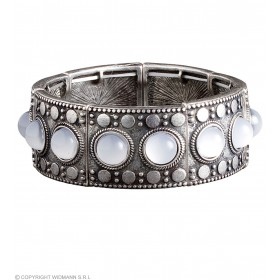 Ladies Silver Celtic Bracelets Jewellery - (Silver)