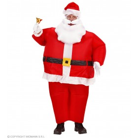 Inflatable Santa Claus Costume, Fancy Dress (Christmas)